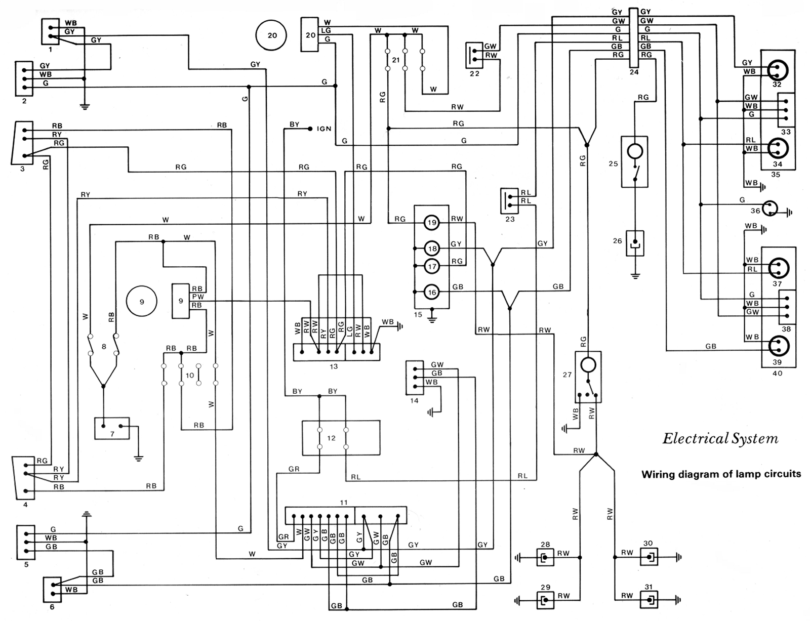toyota camry ignition wire harness connectors file ke70 wiring diagram lamp circuit schematic jpg  file ke70 wiring diagram lamp circuit schematic jpg